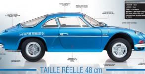 Alpine Renault A110 berlinette 1/8è Eaglemoss