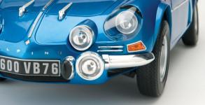Montage Alpine Renault A110 1600S berlinette au 1:8è Eaglemoss