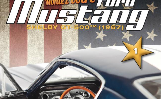 Ford Mustang Shelby GT-500 au 1/8è par Altaya