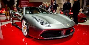 Ferrari 488 GTB Salon de 85eme salon Genève 2015