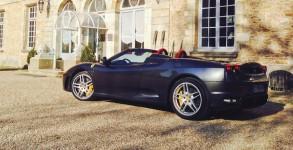 Ferrari F430 spider F1 - Château Esclimont_7