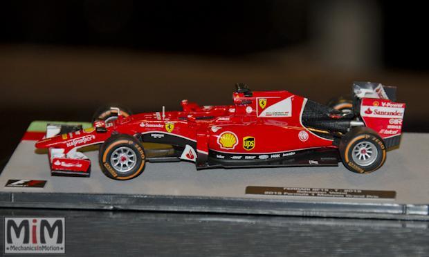 Collection Fabbri Ferrari F1 au 1/43è