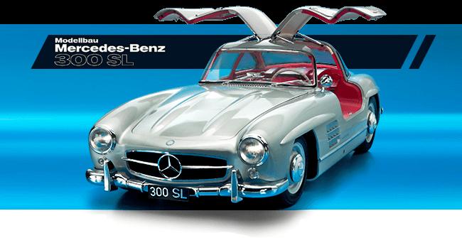Mercedes-Benz 300 SL coupé au 1/8è par Eaglemoss