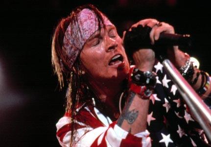 Guns N' Roses Bercy 2010