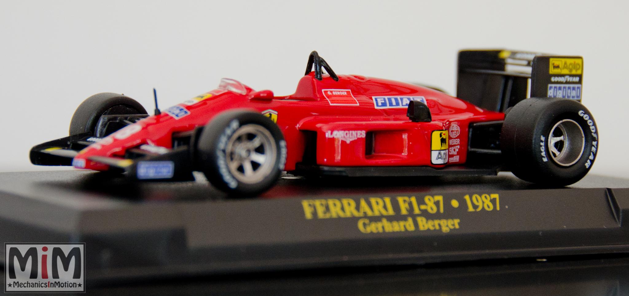 Collection Fabbri Ferrari F1 Au 1 43e