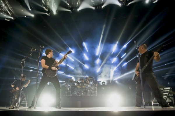 Nickelback Paris Le Zenith 2012