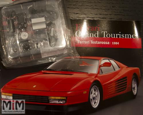42-Altaya Ferrari Enzo 1:10 - Ferrari Testarossa 1984