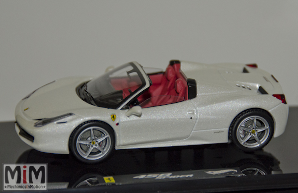 Hachette GT Collection Ferrari 458 Spider