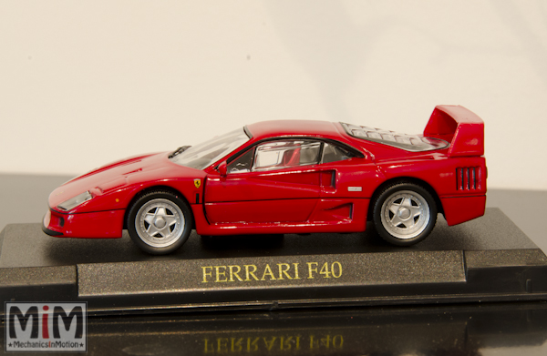 Hachette GT Collection Ferrari F40