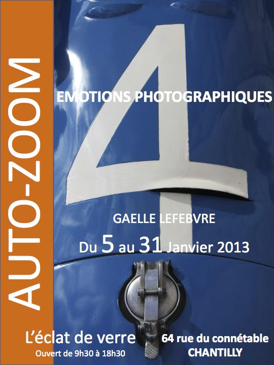 Gaëlle Lefebvre | Photographe | Exposition Janvier 2013 | Auto-Zoom