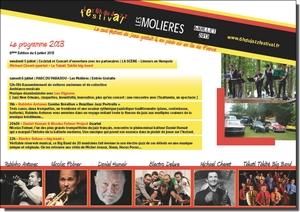 Programme 2013 Festival 6 heures du Jazz