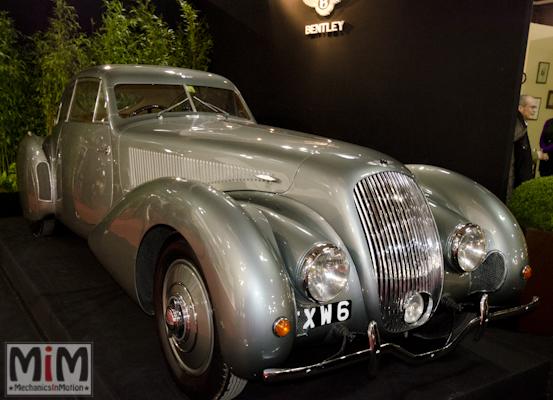 Retromobile 2013 | Bentley Embiricos special