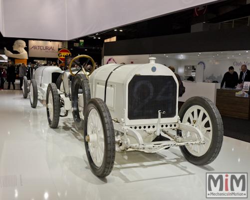 Retromobile 2013 | Benz Grand Prix de 1908