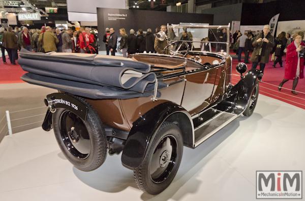 Retromobile 2013 | Citroën B12 1926