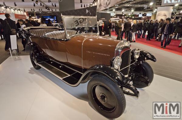 Retromobile 2013 | Citroën B12 1926_