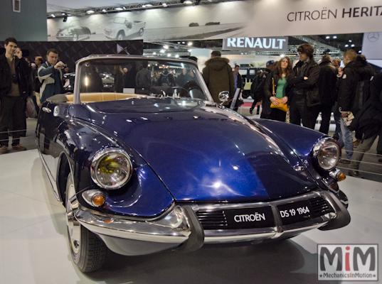 Retromobile 2013 | Citroën DS19 1964