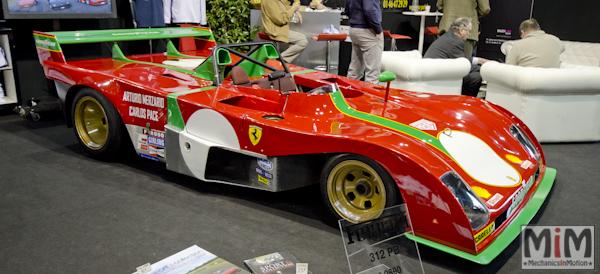 Retromobile 2013 | Ferrari 312 PB 1972