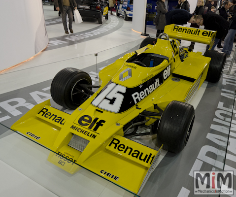 Retromobile 2013 | Renault F1 type RS01 1978