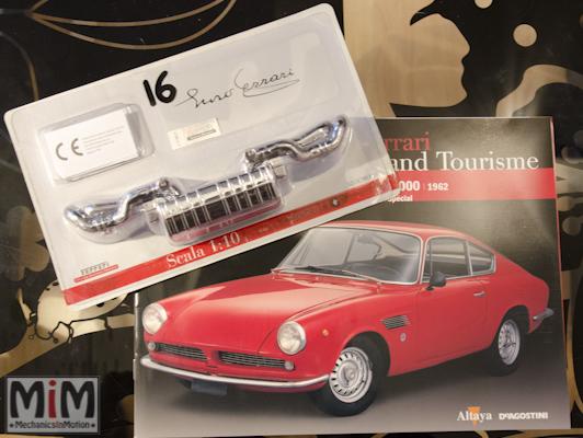 16-Altaya Ferrari Enzo 1:10 - Ferrari GT ASA 1000