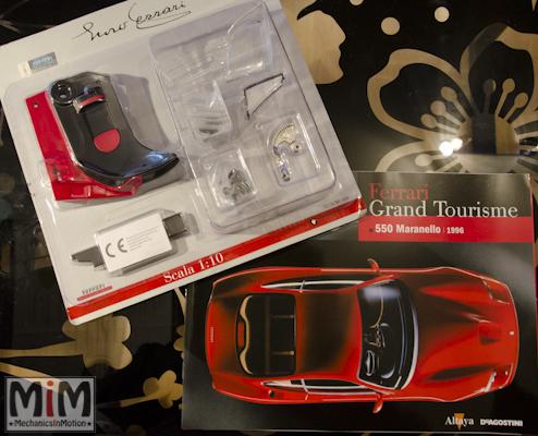 19-Altaya Ferrari Enzo 1:10 - Ferrari 550 Maranello