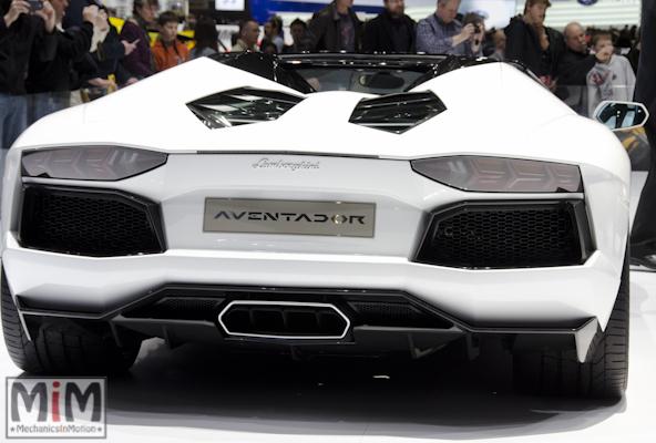 Lamborghini Aventador Roadster | Salon automobile genève 2013