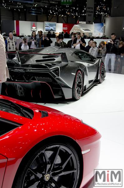 Lamborghini Aventador | Salon automobile genève 2013