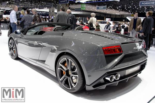 Lamborghini Gallardo Spider | Salon automobile genève 2013