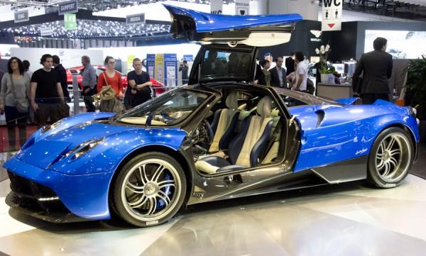 Salon automobile de Genève 2013 – McLaren et Pagani