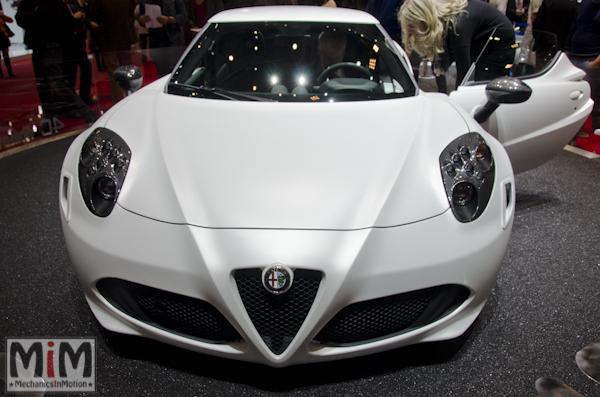 Alfa Roméo 4C | Salon automobile genève 2013