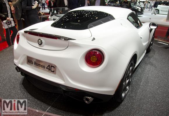 Alfa Roméo 4C | Salon automobile genève 2013_2