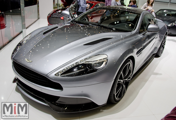 Aston Martin Vanquish Centenary Edition | Salon automobile genève 2013
