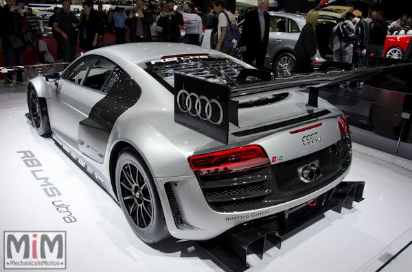 Audi R8 LMS Ultra | Salon automobile genève 2013