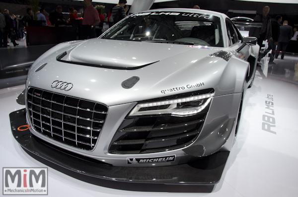 Audi R8 LMS Ultra | Salon automobile genève 2013_2