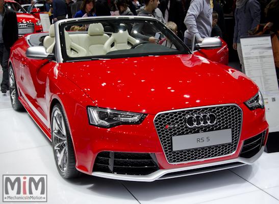 Audi RS5 Cabriolet | Salon automobile genève 2013_3