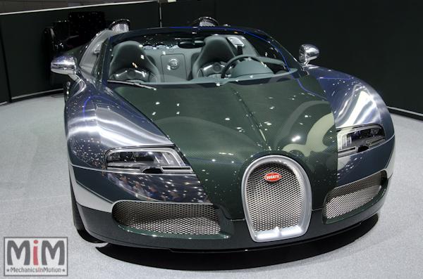 Bugatti Veyron Grand Sport | Salon automobile genève 2013