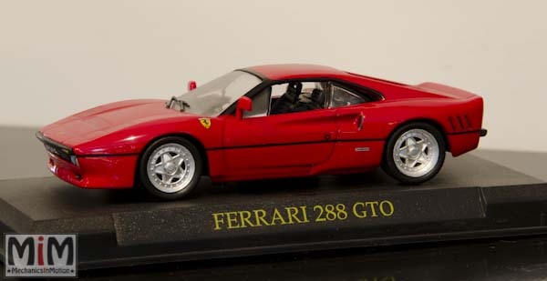 Hachette GT Collection Ferrari 288 GTO