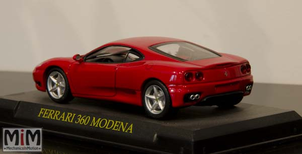 Hachette GT Collection Ferrari 360 Modena