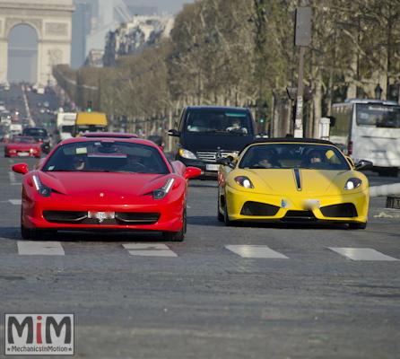 KB Rosso Corsa Day 9 - Ferrari 458 Italia et 16M