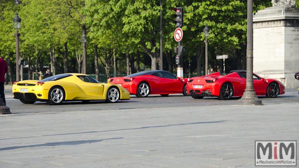 KB Rosso Corsa Day 9 - Ferrari Enzo, 458 Italia, 458 Spider