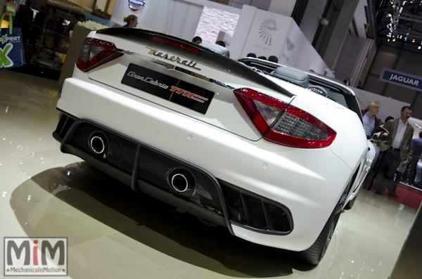Maserati GranCabrio MC Stradale | Salon automobile genève 2013_2
