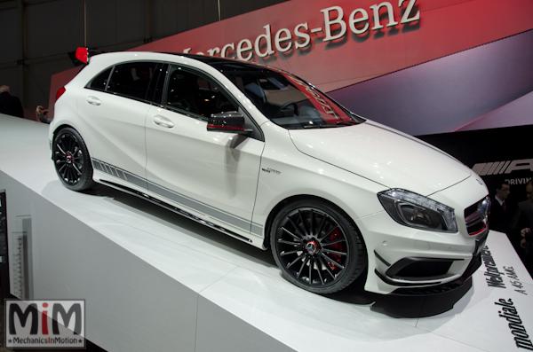 Mercedes A45 AMG | Salon automobile genève 2013