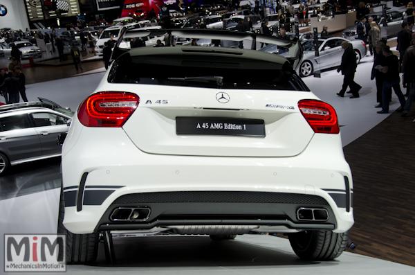 Mercedes A45 AMG | Salon automobile genève 2013_2