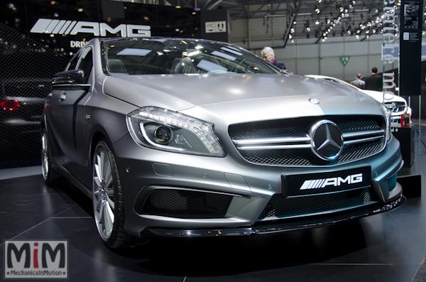 Mercedes A45 AMG | Salon automobile genève 2013_3