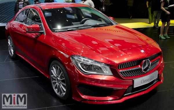 Mercedes CLA | Salon automobile genève 2013