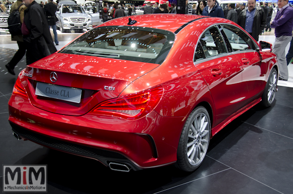 Mercedes CLA | Salon automobile genève 2013_2