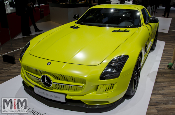 Mercedes SLS Electric Drive | Salon automobile genève 2013
