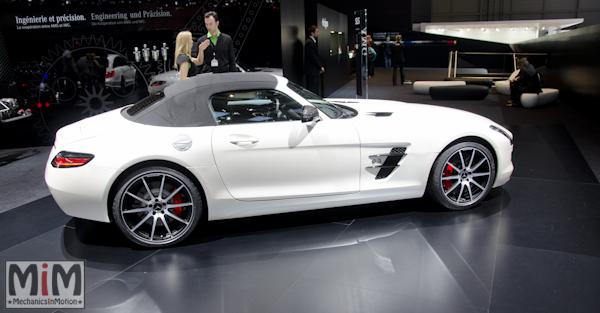 Mercedes SLS GT AMG | Salon automobile genève 2013