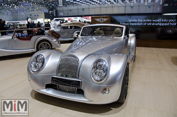 Morgan Aéro SuperSport | Salon automobile genève 2013