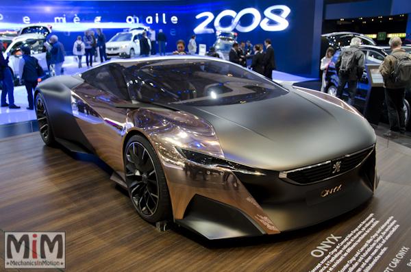 Peugeot Onyx | Salon automobile genève 2013