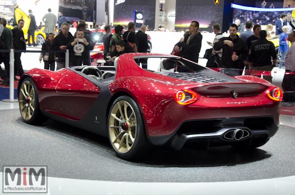Pininfarina Sergio | Salon automobile genève 2013_2